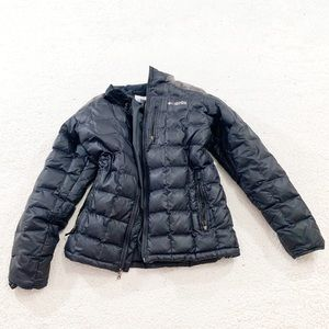 Columbia field gear puffer jacket down feather fil